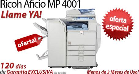 Comprar una Ricoh Aficio MP 4001