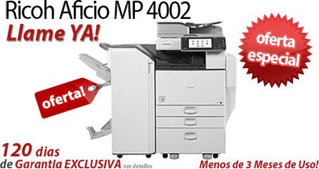 Comprar una Ricoh Aficio MP 4002