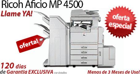 Comprar una Ricoh Aficio MP 4500