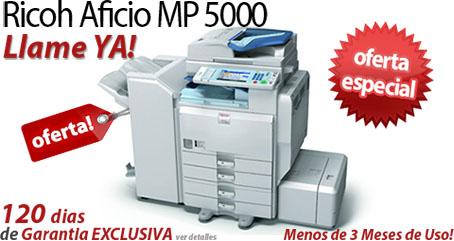 Comprar una Ricoh Aficio MP 5000B