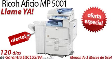 Comprar una Ricoh Aficio MP 5001