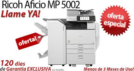 Comprar una Ricoh Aficio MP 5002