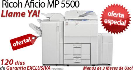 Comprar una Ricoh Aficio MP 5500