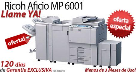 Comprar una Ricoh Aficio MP 6001