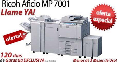 Comprar una Ricoh Aficio MP 7001