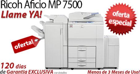 Comprar una Ricoh Aficio MP 7500