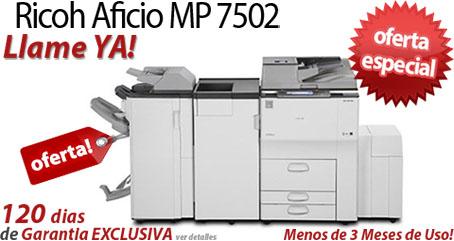 Comprar una Ricoh Aficio MP 7502