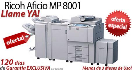 Comprar una Ricoh Aficio MP 8001