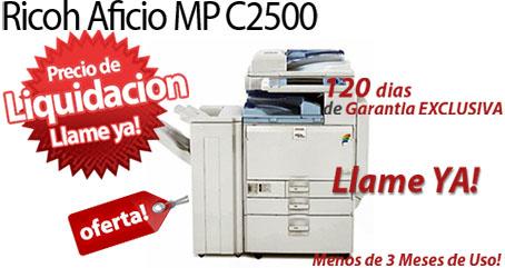 Comprar una Ricoh Aficio MP C2500