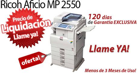 Comprar una Ricoh Aficio MP C2550