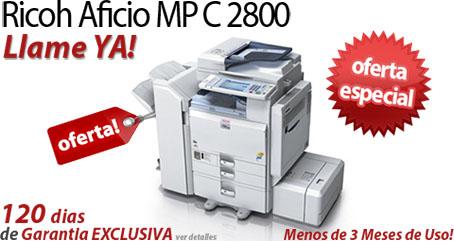 Comprar una Ricoh Aficio MP C2800