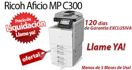 Comprar una Ricoh Aficio MP C300