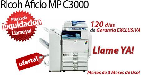 Comprar una Ricoh Aficio MP C3000