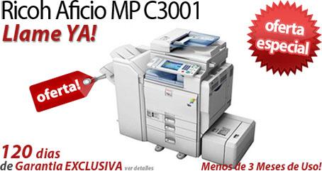 Comprar una Ricoh Aficio MP C3001