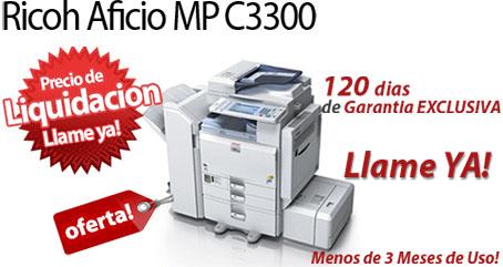 Comprar una Ricoh Aficio MP C3300