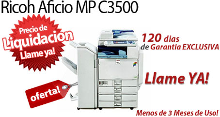 Comprar una Ricoh Aficio MP C3500