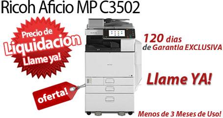 Comprar una Ricoh Aficio MP C3502