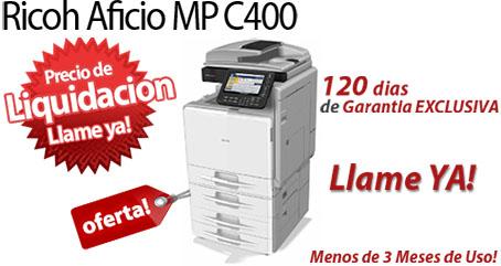 Comprar una Ricoh Aficio MP C400