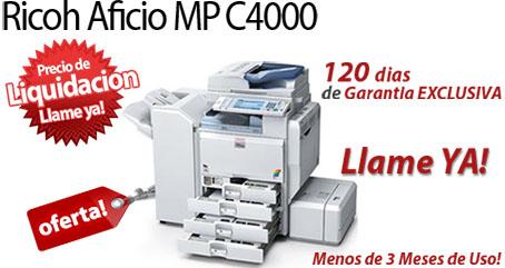 Comprar una Ricoh Aficio MP C4000