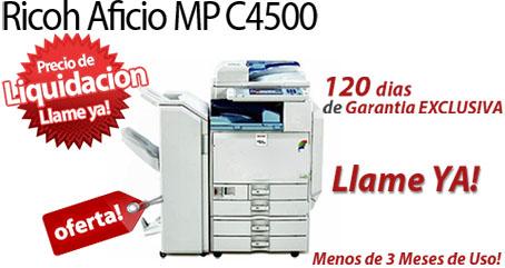 Comprar una Ricoh Aficio MP C4500