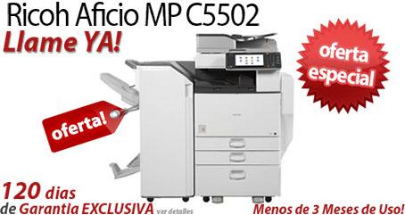 Comprar una Ricoh Aficio MP C5502