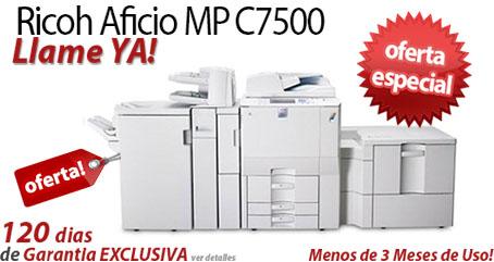 Comprar una Ricoh Aficio MP C7500