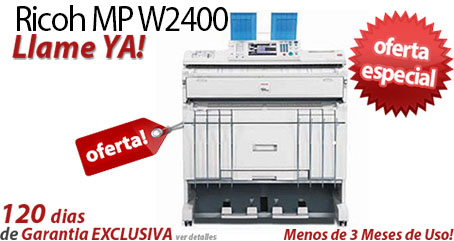 Comprar una Ricoh Aficio MP W2400