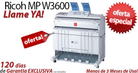 Comprar una Ricoh Aficio MP W3600