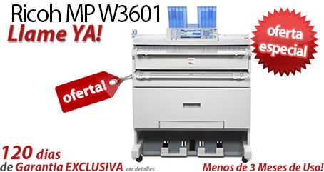 Comprar una Ricoh Aficio MP W3601