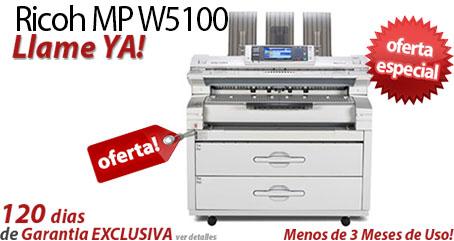 Comprar una Ricoh Aficio MP W5100
