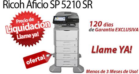 Comprar una Ricoh Aficio SP 5210SF