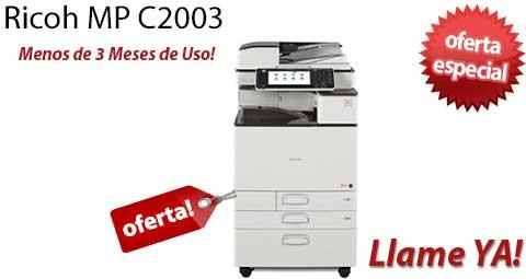 Comprar una Ricoh MP C2003