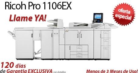 Comprar una Ricoh Pro 1106EX