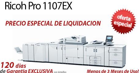 Comprar una Ricoh Pro 1107EX