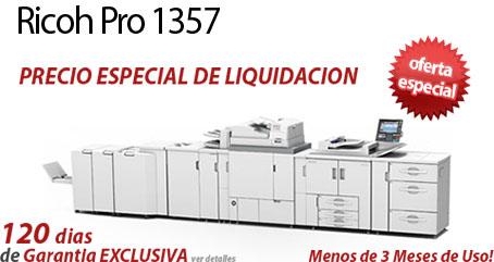 Comprar una Ricoh Pro 1357