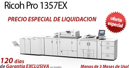 Comprar una Ricoh Pro 1357EX