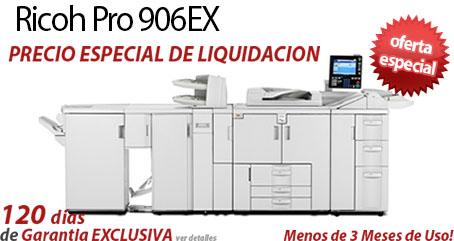 Comprar una Ricoh Pro 906EX