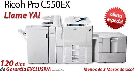 Comprar una Ricoh Pro C550EX