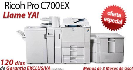 Comprar una Ricoh Pro C700EX