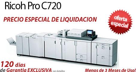 Comprar una Ricoh Pro C720