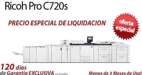 Comprar una Ricoh Pro C720s
