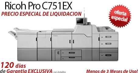 Comprar una Ricoh Pro C751EX
