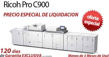 Comprar una Ricoh Pro C900