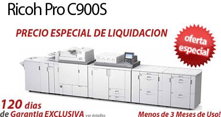 Comprar una Ricoh Pro C900S