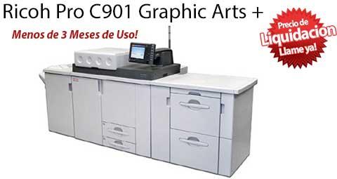 Comprar una Ricoh Pro C901 Graphic Arts +