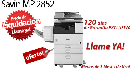 Comprar una Savin MP 2852