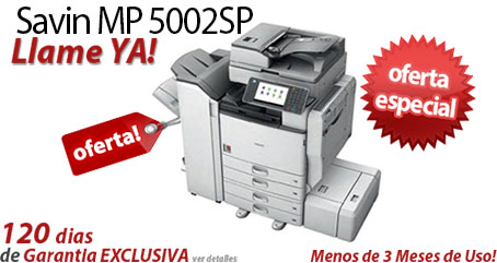 Comprar una Savin MP 5002SP