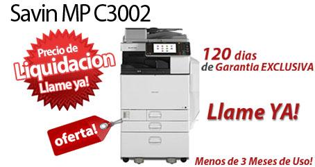 Comprar una Savin MP C3002