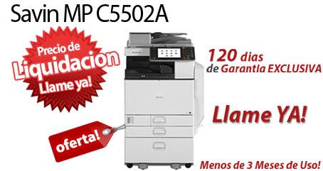 Comprar una Savin MP C5502A