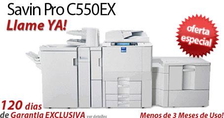 Comprar una Savin Pro C550EX